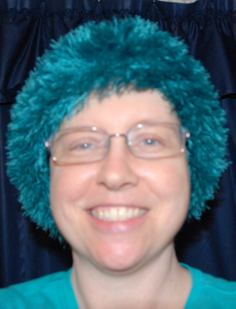 green-wig